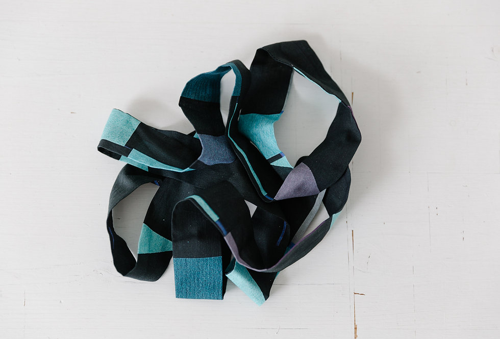 Blue Brick Kimonorah Gürtel