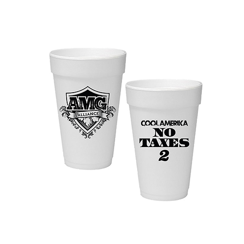 "500 Custom Branded ""Double Cups"""