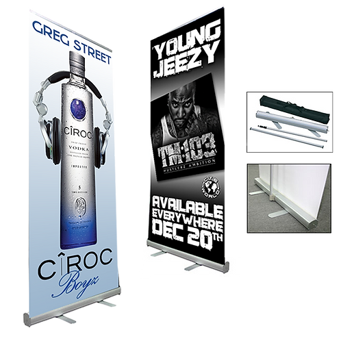 Retractable Banner w/Carry Case