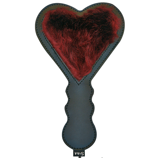 Fur Heart Paddle