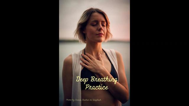 Deep Breathing Practice (Meditation Recording)