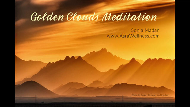 Golden Clouds Guided Meditation ~ Member Exclusive