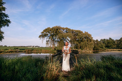 Beautiful Bride by the Lake