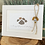 Thumbnail: Sea glass dog ornament #12