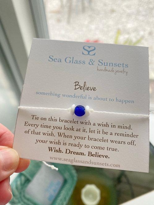 Believe 💙 Wish Bracelet