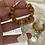 Thumbnail: Beachy bohemian sea foam recycled glass earrings