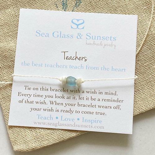 Teachers Wish Bracelet