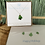 Thumbnail: Christmas tree sea glass necklace