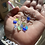 Thumbnail:  Simple Heart Sea Glass Necklace