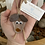 Thumbnail: Sea glass dog ornament #5