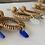 Thumbnail: Beachy bohemian sea glass earrings