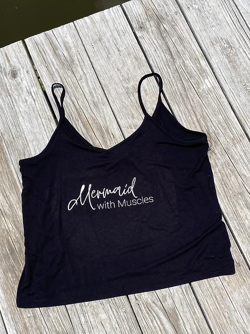 Mermaid with Muscles Skinny Tank