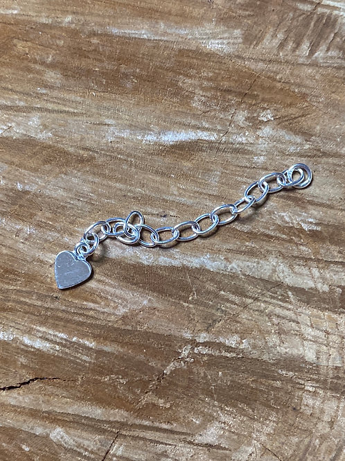"""2"""" sterling silver chain extender"""