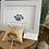 Thumbnail: Sea glass dog ornament #3