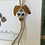 Thumbnail: Sea glass dog ornament #11