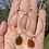 Thumbnail:  Large Brown sea glass earrings