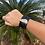 Thumbnail:  Leather Sea Glass Cuff