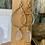Thumbnail: Clear sea glass earrings