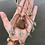 Thumbnail: Boho sea foam faux suede bracelet