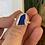 Thumbnail: Cobalt blue bezel ring