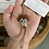 Thumbnail: Sea glass dog ornament  #9