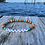 Thumbnail: Your town wooden bead stretchy word bracelets