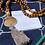 Thumbnail: Mermaid Mala Bead Sea Glass Necklace