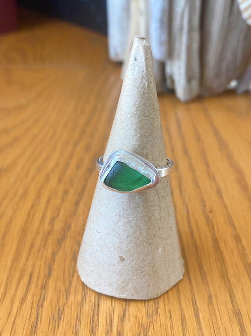 Forest Green bezel ring **reserved for Laurie**