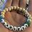 Thumbnail: Fearless Wooden Sea glass word bracelets