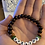 Thumbnail: BREATHE Wooden Sea glass word bracelets