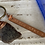 Thumbnail: Sea glass keychain/bag charm