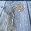 Thumbnail: Light Blue recycled glass bead bracelet