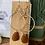 Thumbnail: Brown sea glass earrings