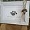 Thumbnail: Sea glass dog ornament #4