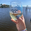 Thumbnail: I'd Rather Be A Mermaid Stemless Wine Glass