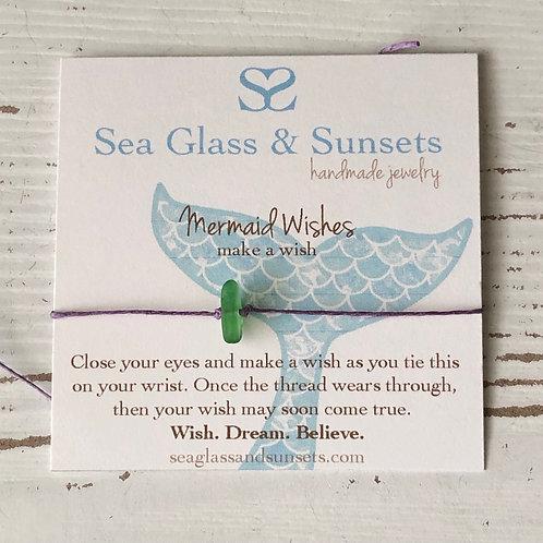 Mermaid Wishes wish bracelet