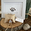 Thumbnail: Sea glass dog ornament #6