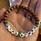 Thumbnail: Girl Power Wooden Sea glass word bracelet