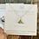 Thumbnail: Citron sea glass sterling silver sand dollar earrings