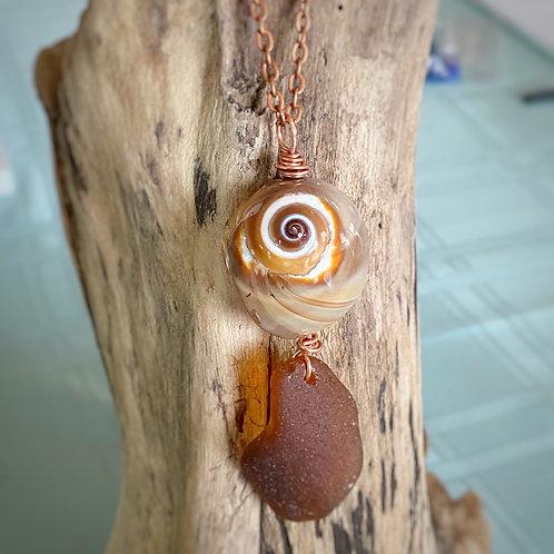 Sea treasures necklace