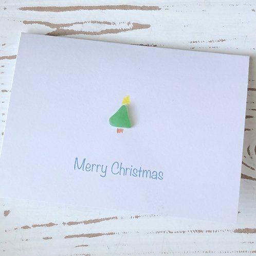 Sea Glass Greeting Card