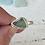 Thumbnail: Wintergreen sea foam bezel ring