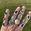 Thumbnail: Ocean swirl bezel statement ring