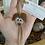 Thumbnail: Sea glass dog ornament #1