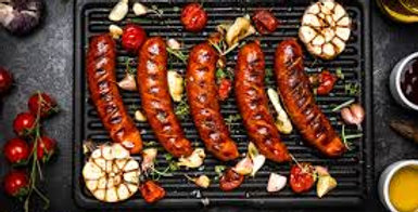 Smoked Beef and Cheese Brat, 1 lb