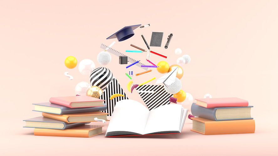 school-supplies-floating-out-book-amidst