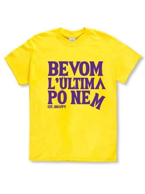 T-shirt Bevom gialla