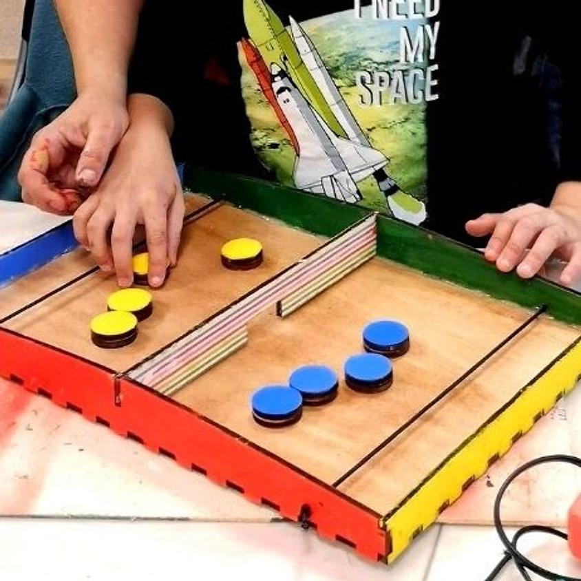 סדנת בניית משחק פוקט - סדנה פיזית במתחם