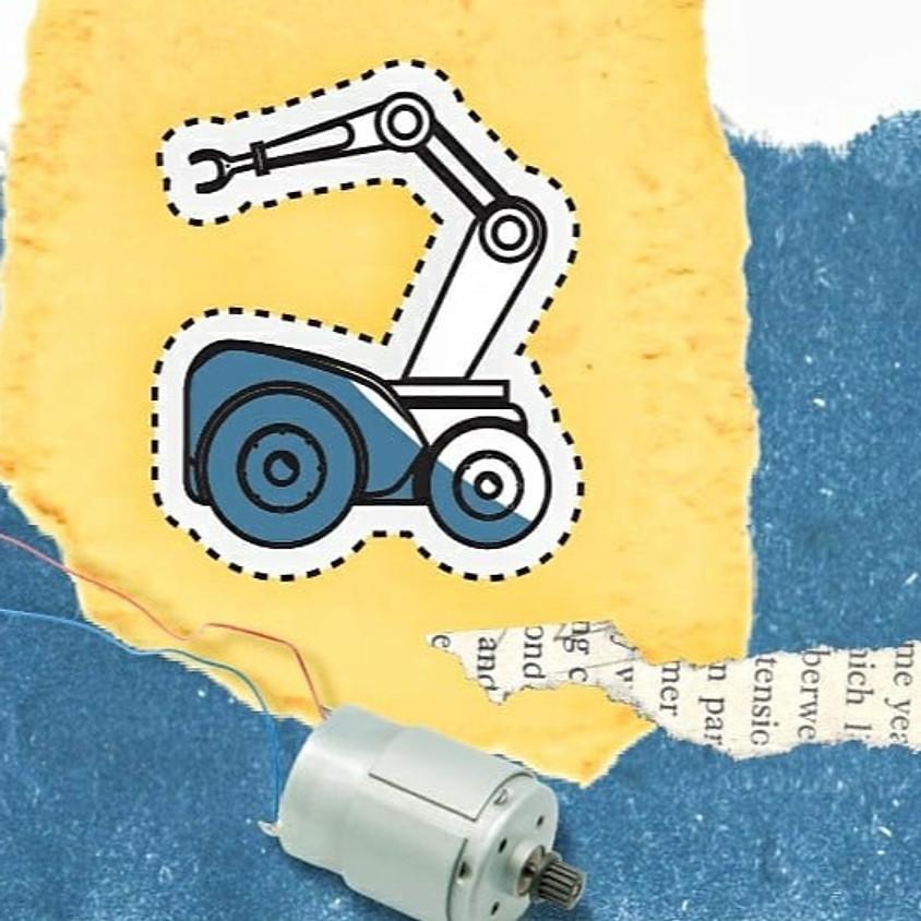 סדנת רובוט מנייר