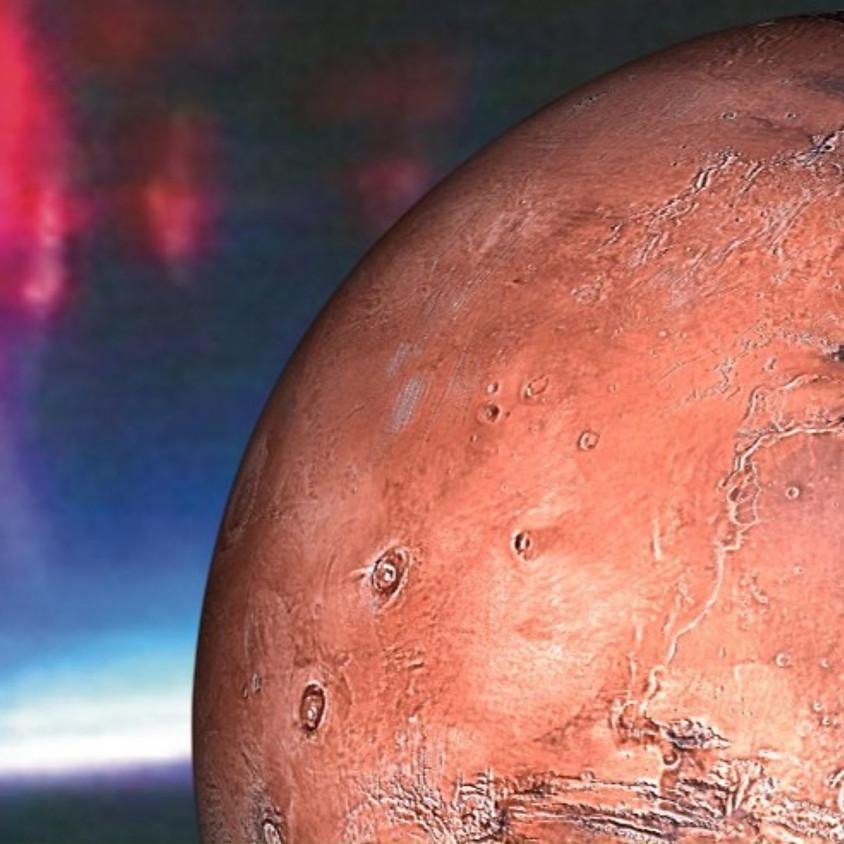 הרצאה מקוונת  - תופעות מזג-אוויר קיצוניות בכדור הארץ ובמאדים - דומה ושונה